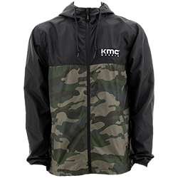 KMC Wheel Camo Windbreaker THUMBNAIL