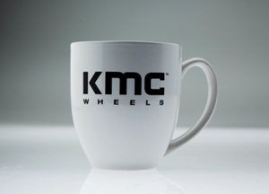 KMC WHEELS LOGO COFFEE MUG