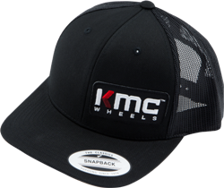 KMC LOGO APPAREL SNAPBACK CURVED BILL HAT