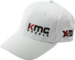 KMC AND XD SERIES LOGO APPAREL SNAPBACK CURVED BILL HAT THUMBNAIL