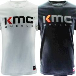 "KMC BRAND ""BILLBOARD"" TSHIRT - WHITE OR BLACK THUMBNAIL"