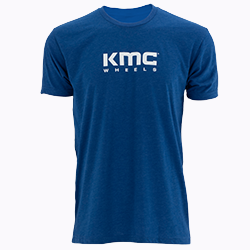 KMC BRAND LOGO SOFT TEE - RB SWATCH