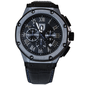 ASANTI WHEELS AMBASSADOR WATCH BLACK CHROME