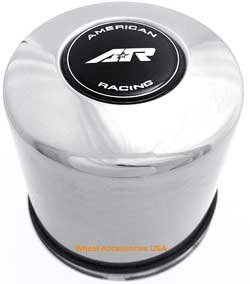 AMERICAN RACING STAINLESS STEEL PUSH THRU CENTER CAP_MAIN