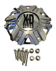 KMC XD SERIES XD 822 MONSTER II REPLACEMENT CAP - CHROME