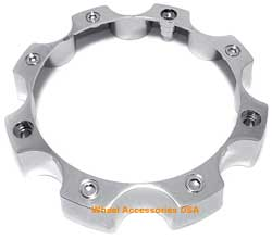 OPEN END CHROME 8 LUG CENTER CAP MAIN