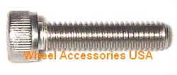 STAINLESS STEEL CAP SCREW M6x30mm