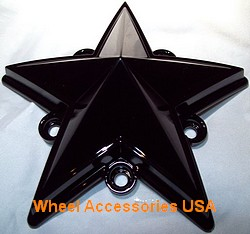 XD SERIES ROCKSTAR / ROCKSTAR II TRUCK CAP REPLACEMENT STAR GLOSS BLACK MAIN