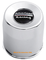 AMERICAN RACING STAINLESS STEEL PUSH THRU CENTER CAP