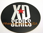 SHOP: XD SERIES MB452A REPLACEMENT LOGO ONLY FOR CENTER CAP - Wheelacc.com