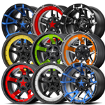 Shop: 30% OFF SELECT ITEMS OF KMC XD Series Rockstar III Wheel XD827 Replacement Center Caps and Inserts - Wheelacc.com