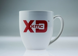 XD SERIES LOGO COFFEE MUG WHITE