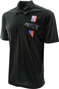 AMERICAN RACING LOGO APPAREL POLO SHIRT