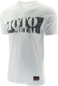 "MOTO METAL ""SLASHER"" TSHIRT - WHITE OR BLACK Mini-Thumbnail"