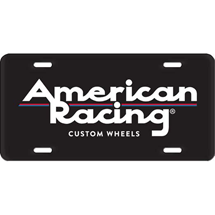 SHOP: AMERICAN RACING LICENSE PLATE INSERT ARPLATEINSERT1