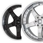 AR311AR611 RT-S - BLACK OR CHROME