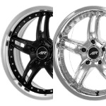 AR371/AR671 SANTA CRUZ - BLACK/MACHINE OR CHROME