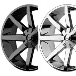 "KM651 SLIDE 20"" & UP - BLACK OR CHROME"