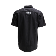 "KMC ""RED KAP BRAND"" WORK SHIRT - GREY OR BLACK SWATCH"