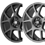 MR121 - SATIN BLACK OR TITANIUM GRAY