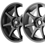 MR125 - SATIN BLACK OR TITANIUM GRAY