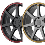 MOTEGI RACING MR132 BLACK WITH RED GRAY WITH ORANGE