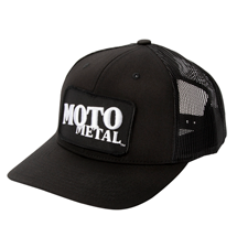 SHOP: MOTO METAL APPAREL HAT MOH604BKCV