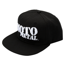 SHOP: MOTO METAL APPAREL HAT MOH605BKFL