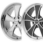 VN807 FWD MACH 5 - CHROME OR BLACK/MACHINED