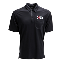 "XD SERIES ""STANDARD"" LOGO POLO - GREY OR BLACK Mini-Thumbnail"