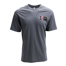 "XD SERIES ""STANDARD"" LOGO TSHIRT - GREY OR BLACK SWATCH"