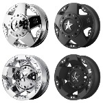 Shop KMC XD Series Rockstar Dually Wheel XD775 Replacement Center Caps and Accessories - Wheelacc.com