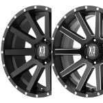 Shop KMC XD Series Wheel XD818 Replacement Center Caps and Accessories - Wheelacc.com