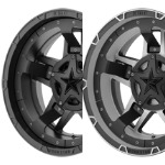 KMC XD Series Rockstar III Wheel XD827 Replacement Center Caps and Inserts - Wheelacc.com