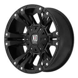 KMC XD SERIES XD 822 MONSTER II REPLACEMENT CAP - SATIN BLACK