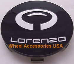 LORENZO WL030 GLOSS BLACK CENTER CAP MAIN