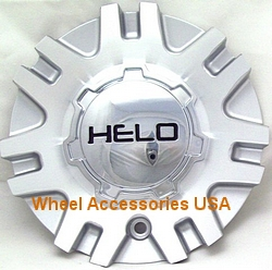 HELO 874 SILVER/MACHINED CENTER CAP MAIN