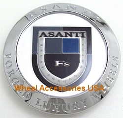 ASANTI CENTER CAP C-100 CHROME (OLD LOGO)