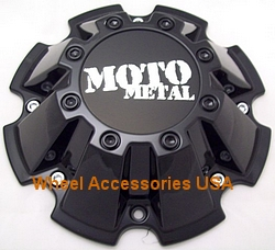 MOTO METAL 962 M793BK01 GLOSS BLACK SINGLE CENTER CAP