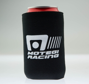 MOTEGI RACING CAN KOOZIE BLACK MAIN