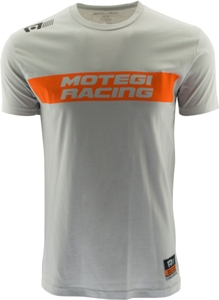 "MOTEGI RACING ""SKID MARK"" TSHIRT - WHITE Mini-Thumbnail"