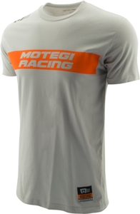 "MOTEGI RACING ""SKID MARK"" TSHIRT - WHITE SWATCH"