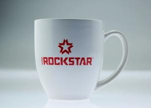 Xd Rockstar Logo Coffee Mug White