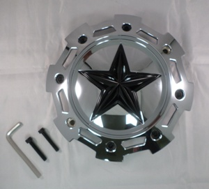 SHOP: KMC XD SERIES XD811 CHROME CENTER CAP REPLACEMENT - Wheelacc.com THUMBNAIL