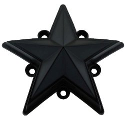 5 pack KMC XD 827 Rockstar 3 YELLOW Replacement Star Fits S1004-04 Caps ONLY