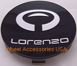 LORENZO WL030 GLOSS BLACK CENTER CAP