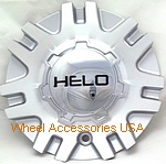 HELO 874 SILVER/MACHINED CENTER CAP