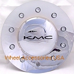 KMC 677 D2 CHROME CENTER CAP