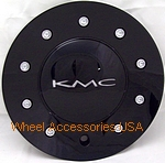 KMC 677 D2 GLOSS BLACK CENTER CAP