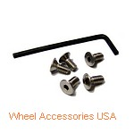 TORQ THRUST CAP SCREW SET AMERICAN RACING|105 TORQ THRUST D